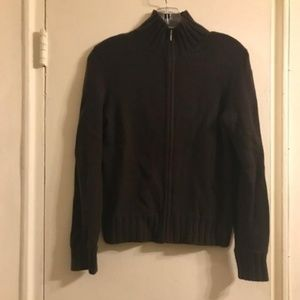 Collection Fifty Nine Cashmere Zip Up Sweater